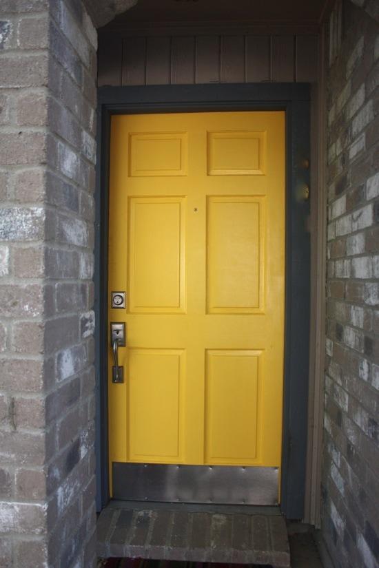 a front door makeover   love & renovations