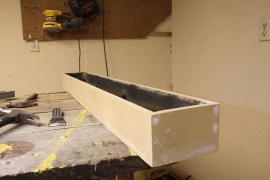base for easy succulent centerpiece