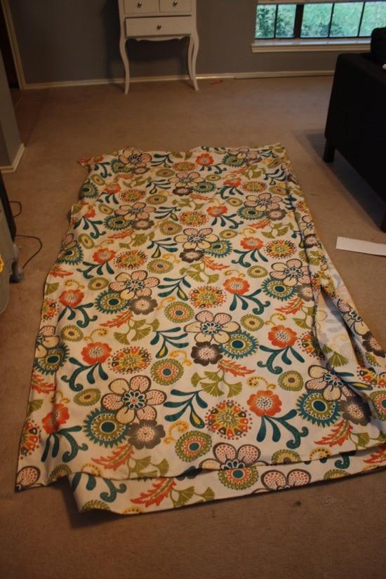 DIY curtains - fabric