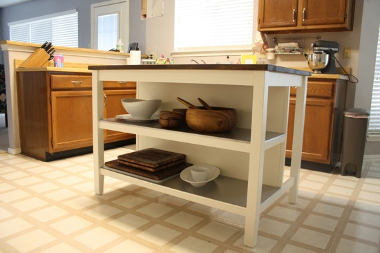 An island dream comes true love renovations - Stenstorp kitchen island for sale ...
