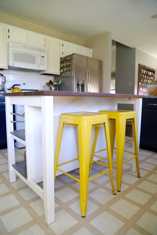 The STENSTORP island from IKEA is so beautiful and versatile! Here's a  review of it - IKEA Hack: Stenstorp Kitchen Island Love & Renovations