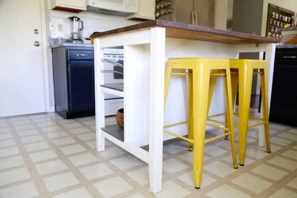 Ikea hack stenstorp kitchen island love renovations for Ikea stenstorp island