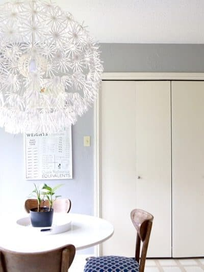The IKEA MASKROS light is affordable, huge, and packs a giant punch. Here's a review of the light, along with a few ideas for how to make it your own!