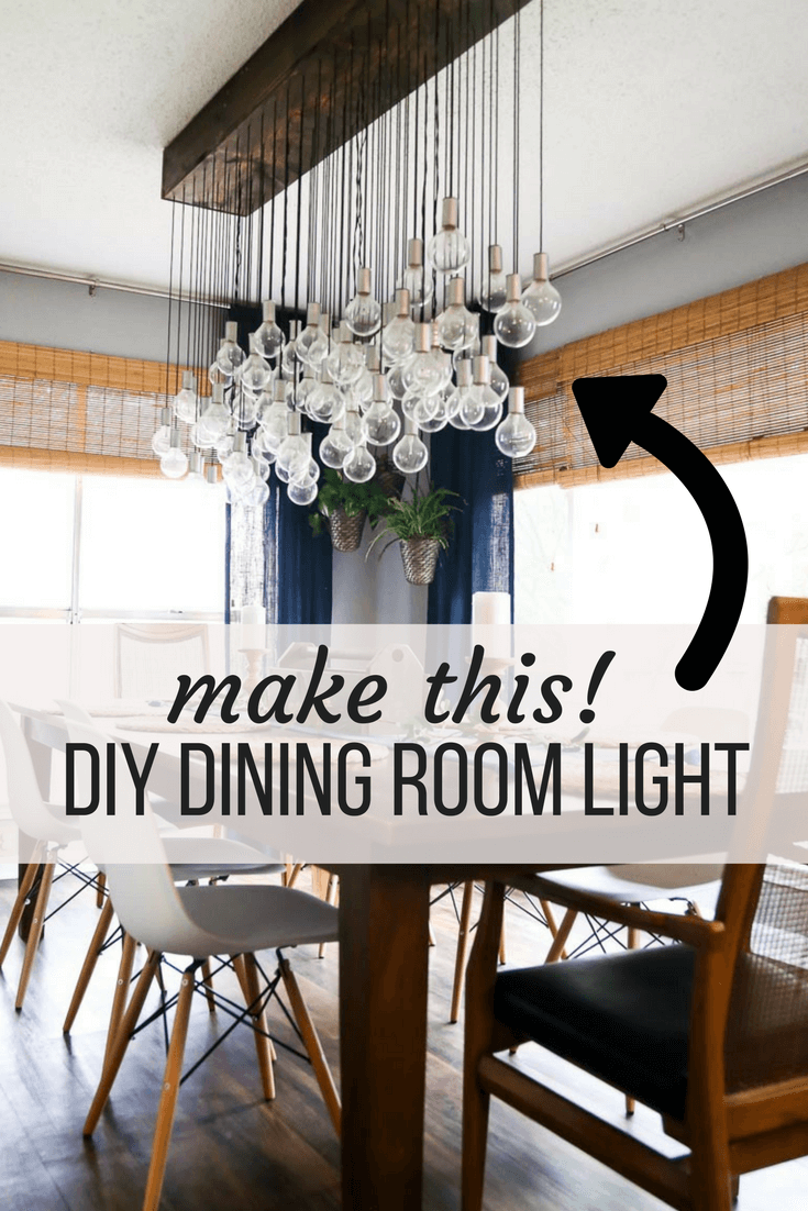 Dining Room Lighting Images. How To Make A Gorgeous Diy Dining Room Light  Lighting Images