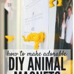 DIY Animal Magnets