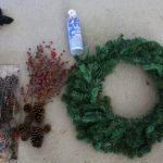 A Homemade Wreath
