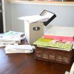 February Organize-A-Thon: Paper