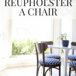 Quick, Easy, and Gorgeous Vintage Chair Makeover
