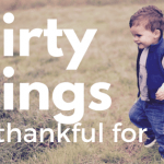 30 Things I'm Thankful for This Year