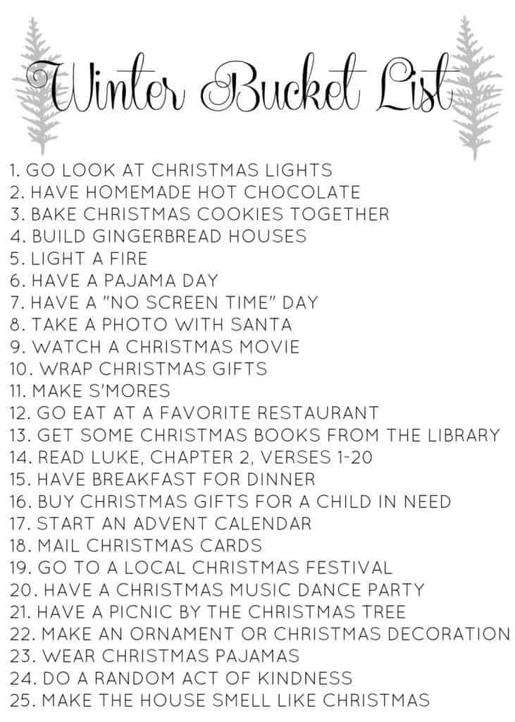 11 Best On My Bucket List Images On Pinterest: Family-Friendly Christmas Bucket List // Love & Renovations