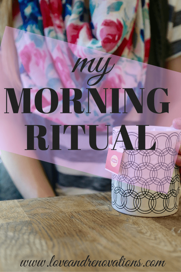 Rituals can be absolutely life-changing when implemented correctly. Here's how to create a morning ritual that will help start your mornings off on the right foot every day!