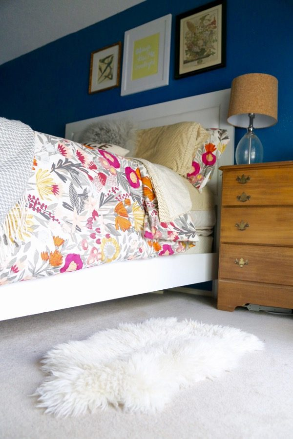 Seven ideas for how to use a sheepskin rug in your home! // Love & Renovations