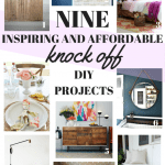 9 Inspiring DIY Knock-Off Projects