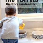 Chores for a Two-Year Old
