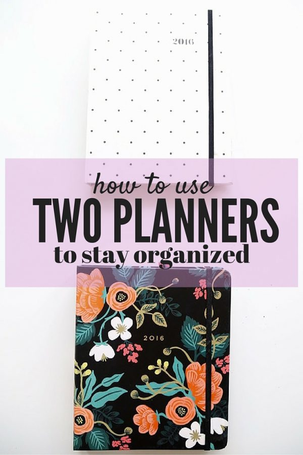 Do you need to get more organized? This post will teach you how to use two planners to keep everything in your life organized, and how to completely customize them to make them exactly what you need!