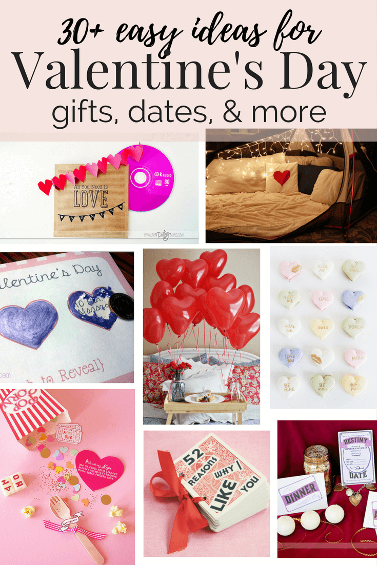 More than 30 great ideas for Valentine's Day gifts, crafts, dates and more! Great inspiration if you're stumped on what to get your significant other for V-Day!
