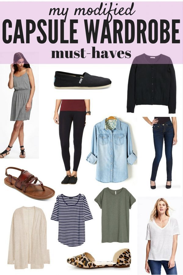 "Love the idea of a capsule wardrobe but having a hard time following all the rules? Here's a modified version that's much easier to follow, much more realistic, and only has three simple ""rules"" for you to follow!"