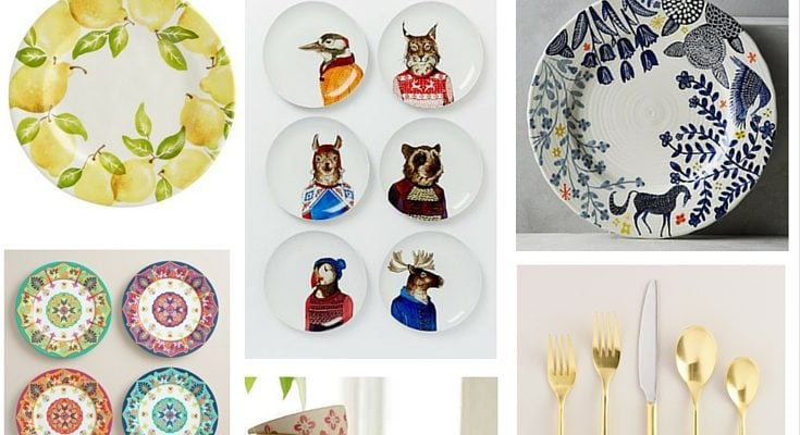 Looking for some fun and unique dinnerware to make your table a little brighter and more fun? This post has 9 great options that are whimsical, adorable, and affordable!
