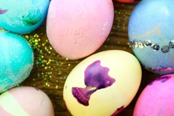 Dyeing Easter eggs with your toddler is a ton of fun, but it can also be stressful if you don't plan ahead! Here are ten simple and awesome ideas for how to make the most of your egg dyeing session.