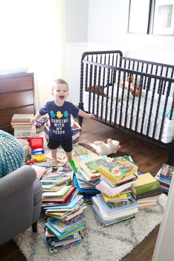 how to organize books - Konmari method