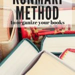 Tidying Up the KonMari Way: Books