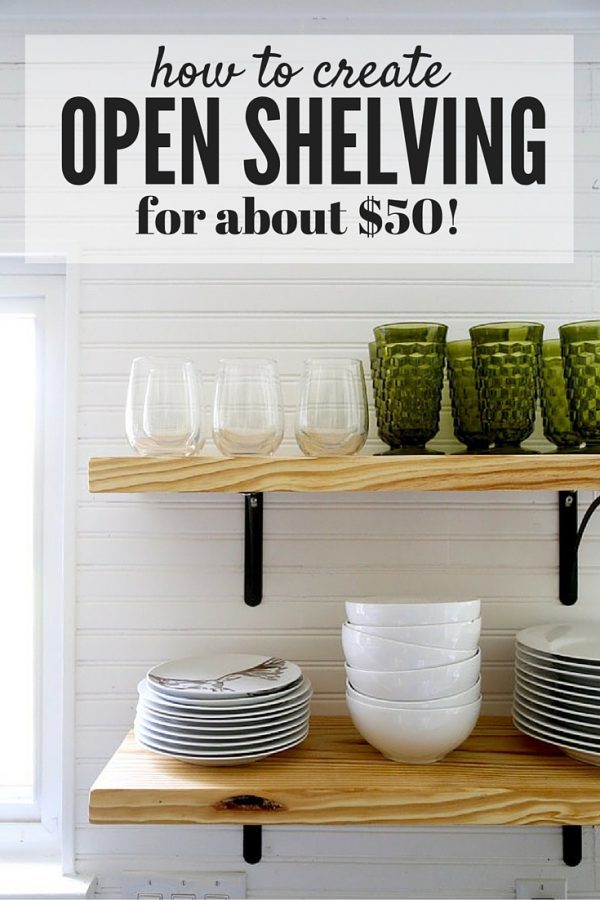 Love The Look Of Open Shelving In Your Kitchen But Have No Idea How To  Tackle