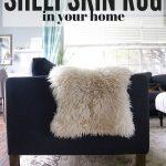 7 Ways to Use a Sheepskin Rug
