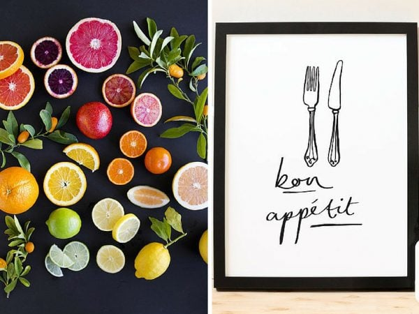 20+ Gorgeous Kitchen Art Ideas You'll Love - Love ...