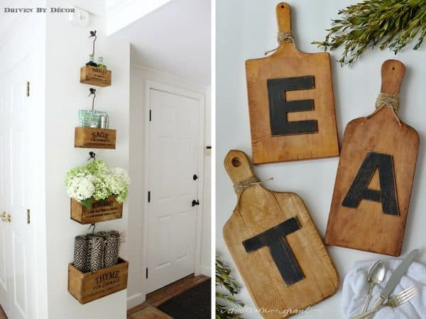 Kitchen art ideas youll love and theyre all affordable too diy idea for kitchen wall art solutioingenieria Choice Image