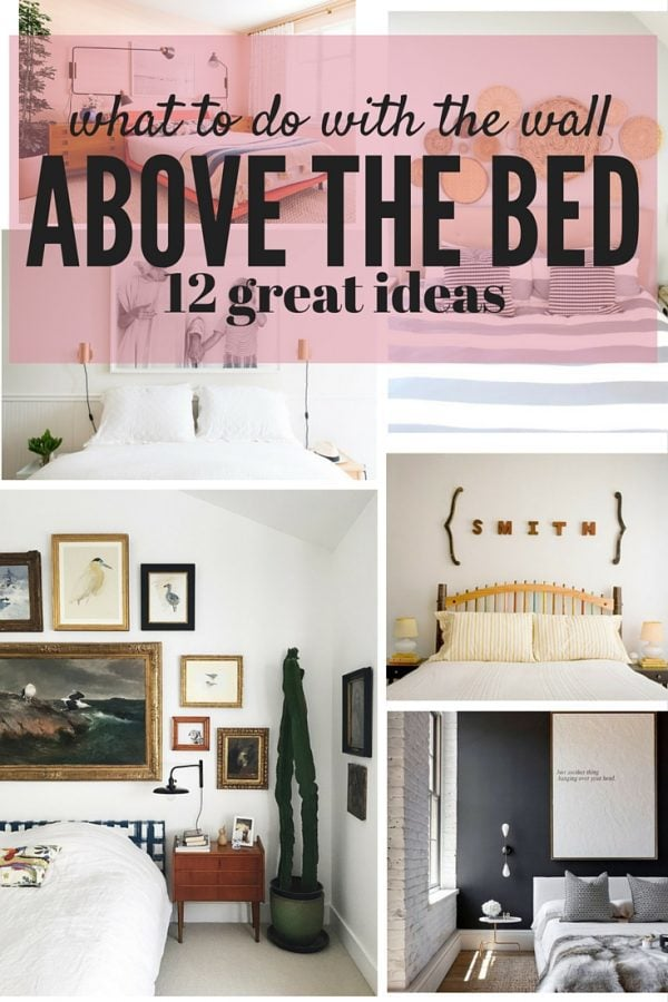 How to decorate above your bed love renovations - Over the bed art ...