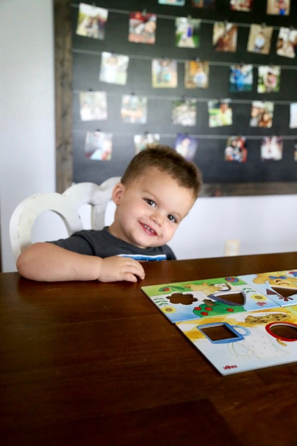 A review of Haba board games for toddlers. These games are perfect for kids as young as two years old and teach some super important skills like turn taking, colors, shapes, and following rules! And bonus: they're games you won't get tired of playing, either!