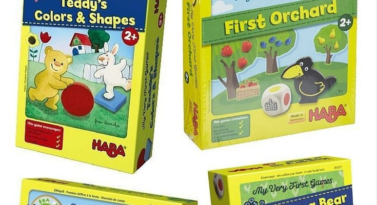 TODDLER BOARD GAMES