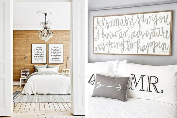 How To Decorate Above Your Bed Love Renovations