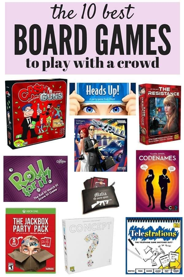 board games to play with friends