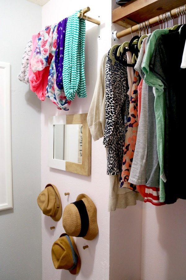 Gorgeous closet makeover