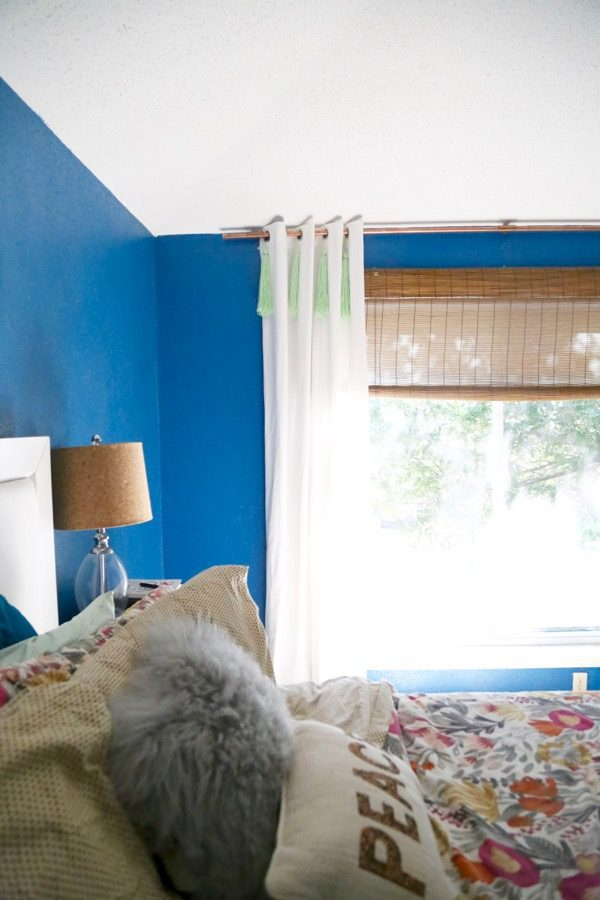 how to make yarn tassel curtains