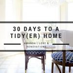 30 Days to a Tidy(er) Home