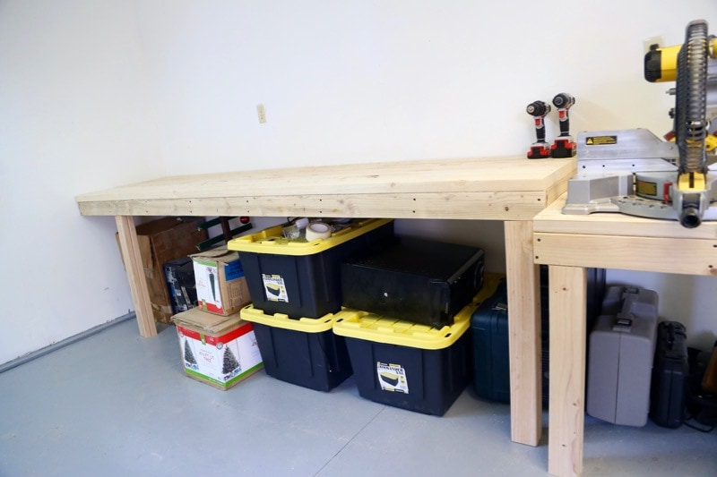 workshop organization and building a workbench