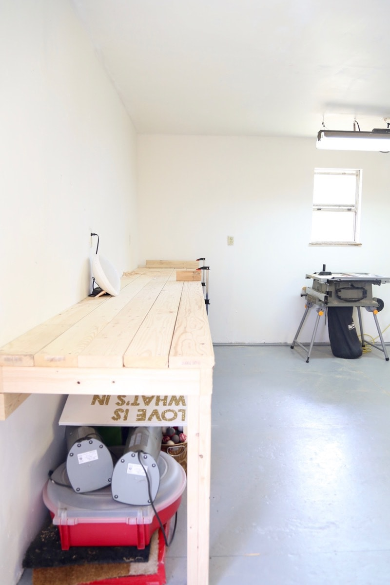 adding a workbench to workshop