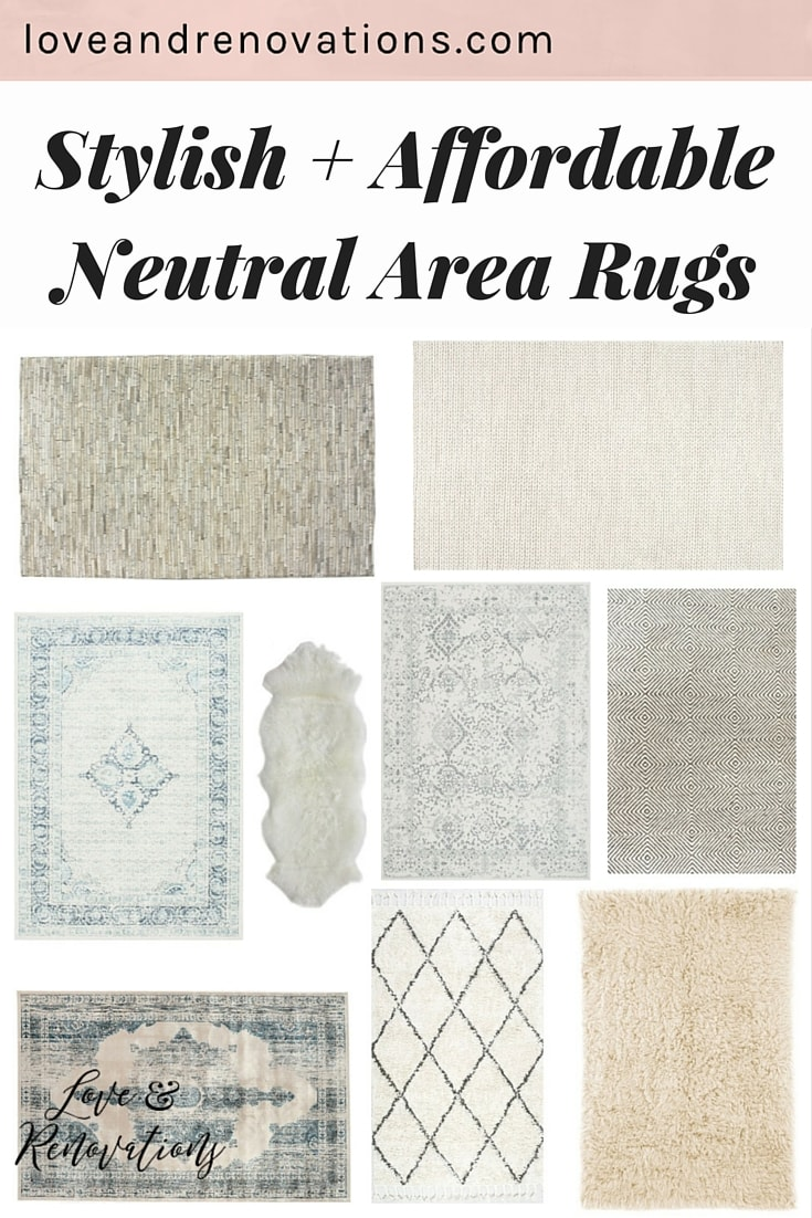 I've been looking for new rugs for my home for forever, but it's so hard to find affordable rugs that aren't too busy for an already-decorated room! These rugs are right in my budget, fit perfectly in the room, and they're gorgeous! This post was so helpful!