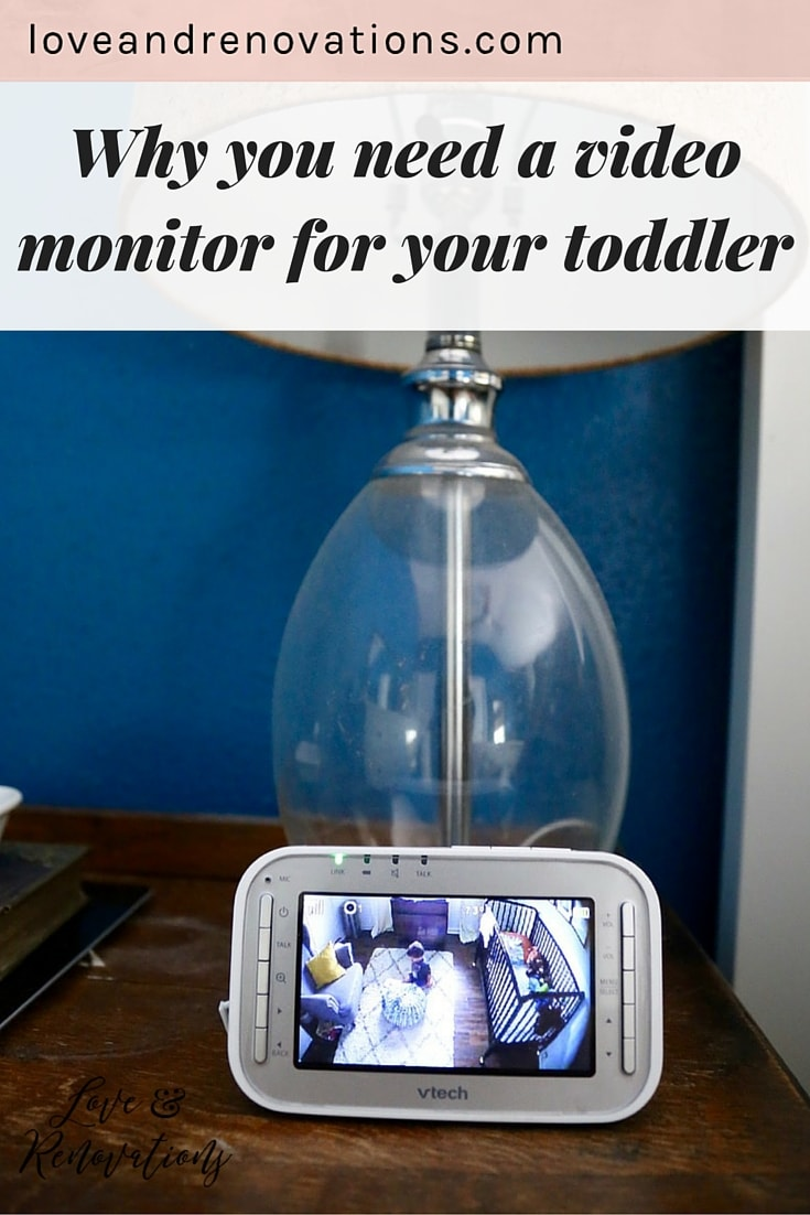 I never thought about it this way, but having a video monitor for a toddler is almost even more important than having one for a baby! This post explains why, and gives a great review of the VTech video monitor.