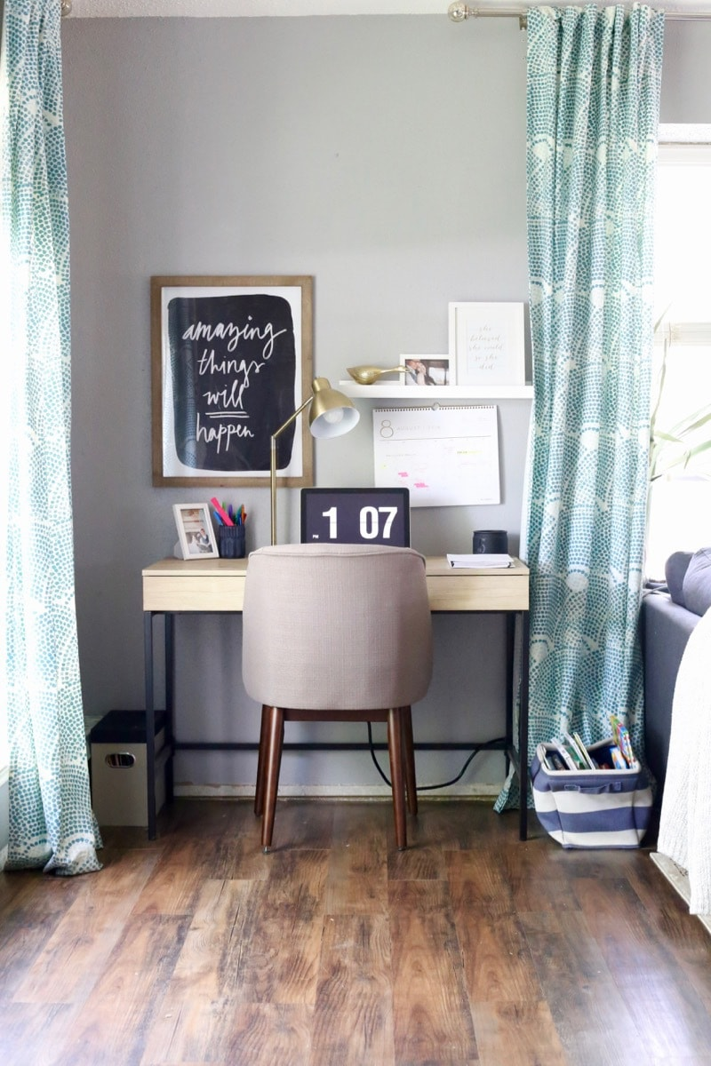 DIY home office space