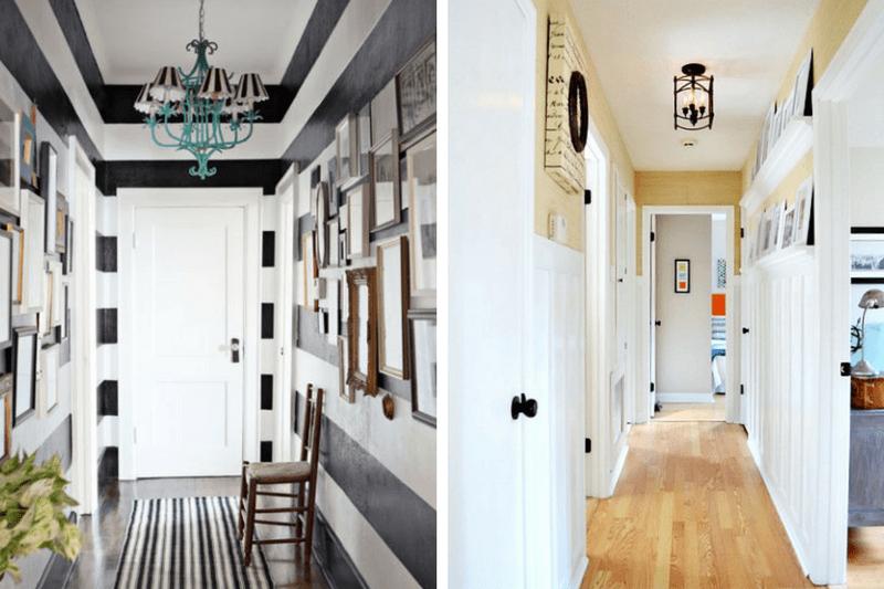 10 great narrow hallway decorating ideas