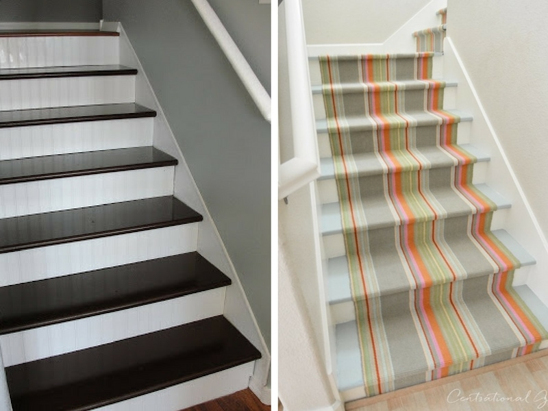 Staircase Makeover Ideas How To Make Your Staircase