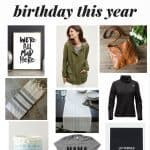 My Birthday Wish List