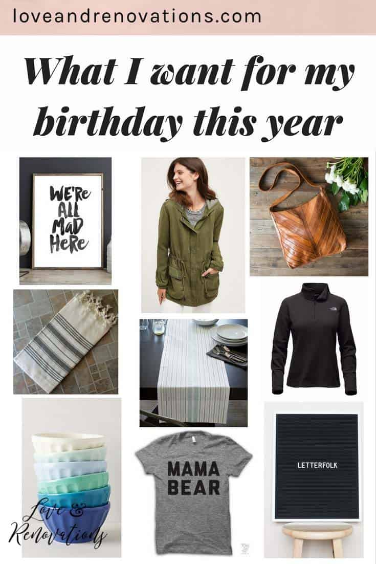 Great ideas for birthday gifts for your friend, sister, or even for yourself!