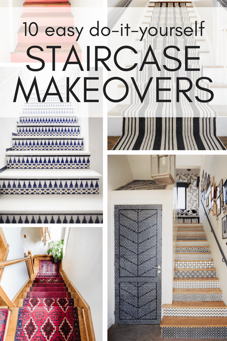 High Quality Great DIY Staircase Makeover Ideas That You Can Try In Your Home This  Weekend!