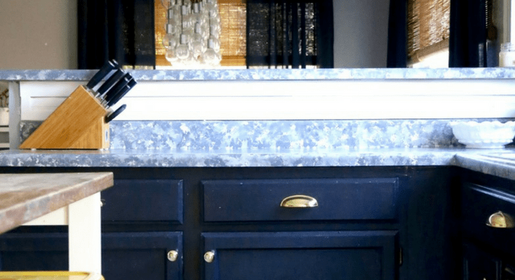 Our Painted Cabinets & Counters - One Year Later | Love & Renovations