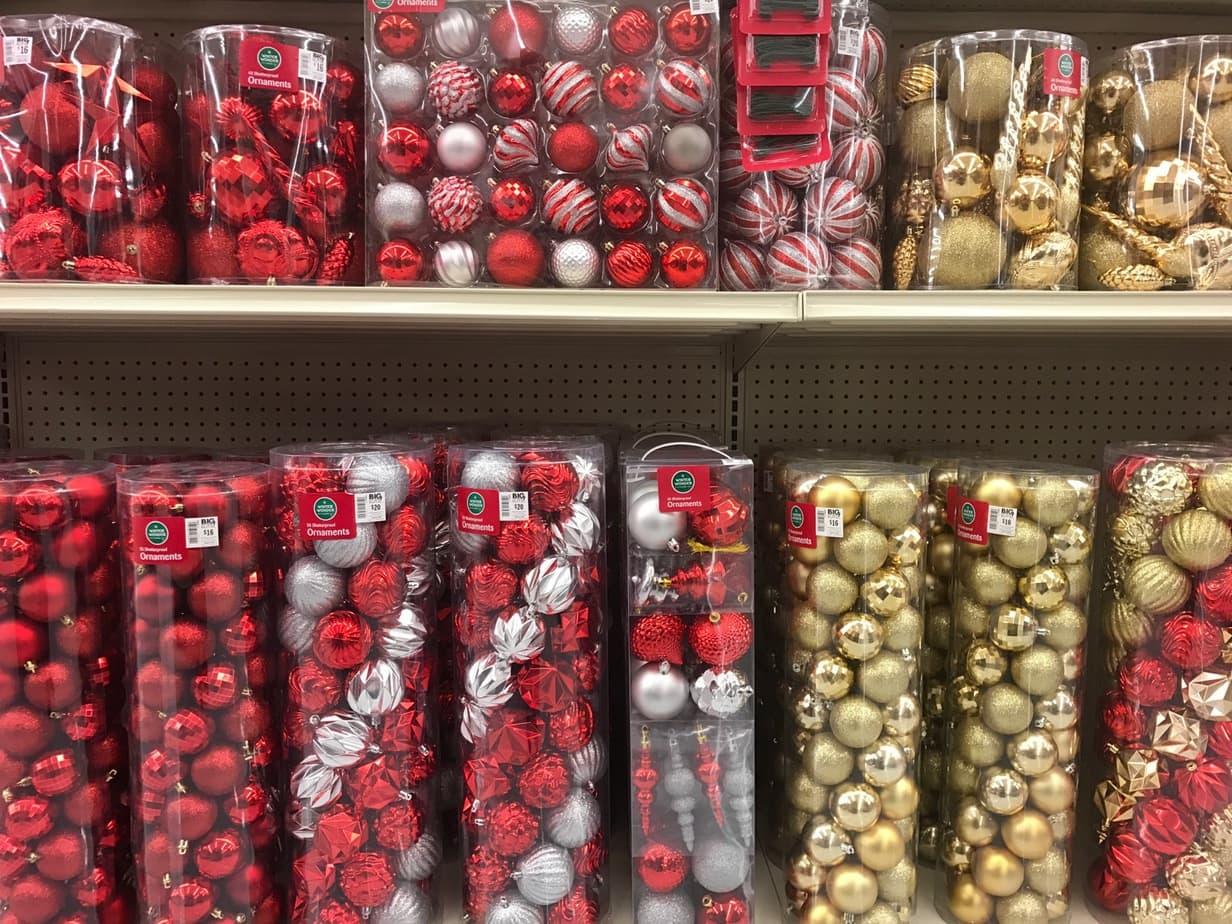 A look at Big Lots Christmas decorations