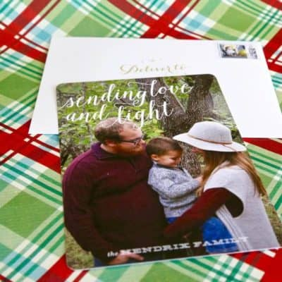 Our family's 2016 Christmas cards from Minted. They're so cute, and they make it so incredibly easy for you!